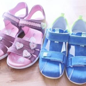 Superfitの子供用サンダル2足&女児用長靴☆
