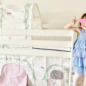 娘のロフトベッドを組み立てました☆