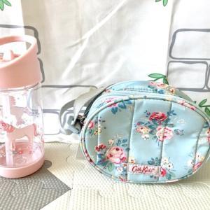 息子の慣らし保育二日目&キャスの女児用水筒&ポシェット☆
