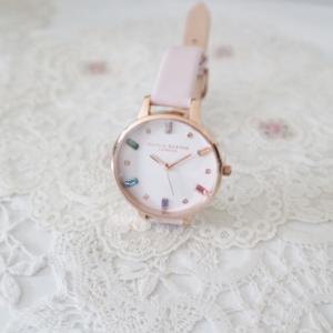 娘の小学校入学の申し込み&オリビアバートンの腕時計☆