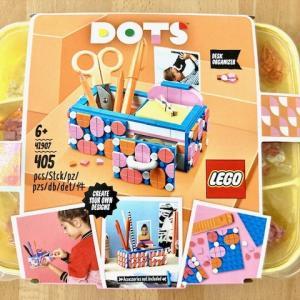 レゴの女子用工作キット「LEGO DOTS」を買ってみた☆