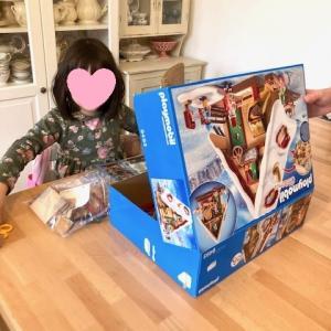 コロナ感染者の特定&Playmobil (プレイモービル)のクリスマスの家☆