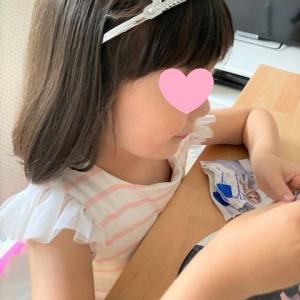 娘の誕生日会のやり直し&新学期開始☆