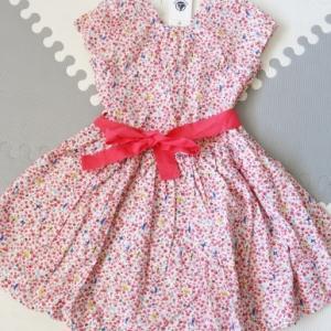 プチバトーの小花模様の新作ワンピ1点&ナイトドレス2点☆
