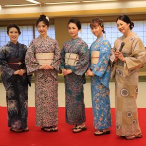 加賀染ゆかたショー 開催しました。