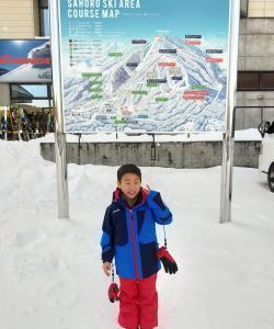 サホロリゾートスキー場で今シーズンの初滑り