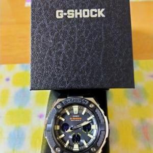 G-SHOCKを新調しました。
