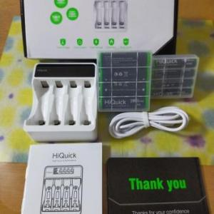 「HiQuick 充電池充電器セット」を買ってみた