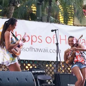 超絶Ukulele Kids Honoka & Azita @Waikiki Spam Jam 2015