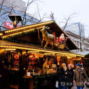 デュイスブルクのクリスマスマーケット