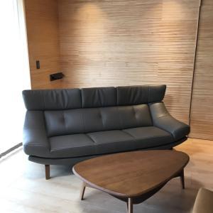 カリモク家具 ソファZU46モデル 富山市Y様邸