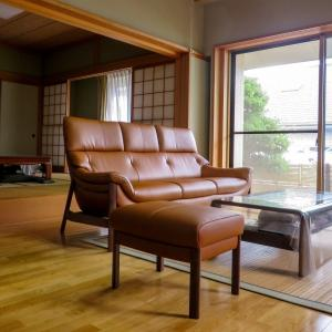 富山県射水市S様 カリモクZU62ソファ 納品実例
