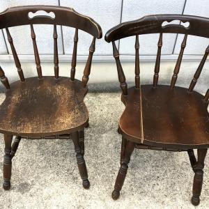 家具再生実例 木製椅子修理