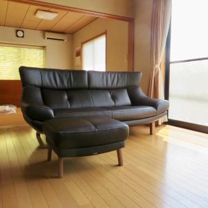 納品実例 ソファZU46モデル 石川県白山市N様邸