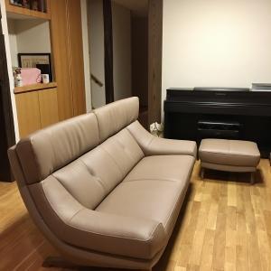 納品実例 カリモク家具 ソファZU46モデル