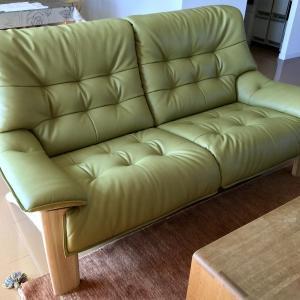 納品実例 カリモク家具 ソファZU49モデル