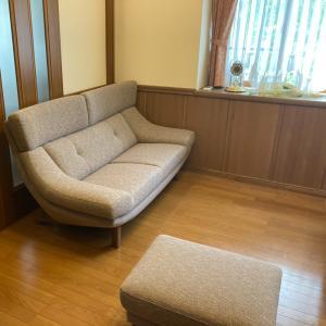 納品実例 ハイバックソファZU46model 富山県射水市N邸