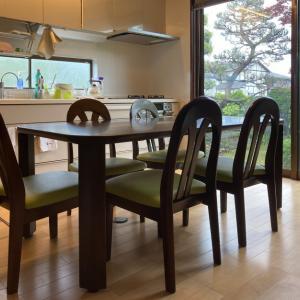 家具再生実例 ドクターキツツキ 飛騨産業ダイニングセット 富山県富山市S様