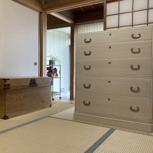 家具再生実例 富山県射水市K様 桐タンス 長持ち 再生修理