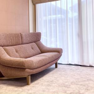 家具修理実例 石川県白山市M様 カリモクの張地でカンディハウスのアームチェアを修理再生