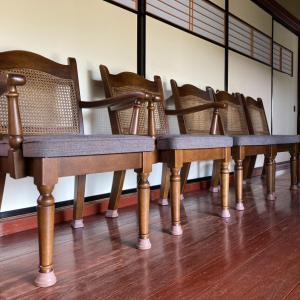 家具再生実例 石川県かほく市 昔からの椅子を直して使いたいとの思いをカタチに