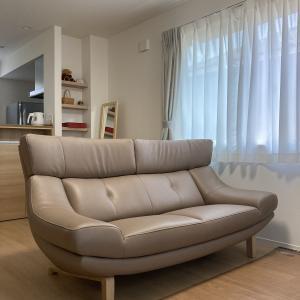納品実例 石川県白山市K様 ハイバックでスタイリッシュな定番ソファZU46model
