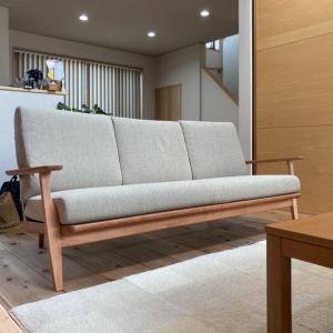納品実例 石川県金沢市N様邸 カリモク家具 ソファWU61model