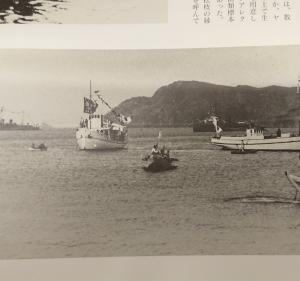 昭和4年、ご進講の際の写真撮影地の訂正について