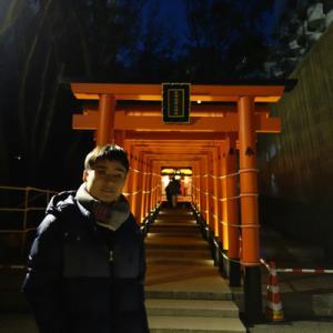息子と、生田神社と南京町へ