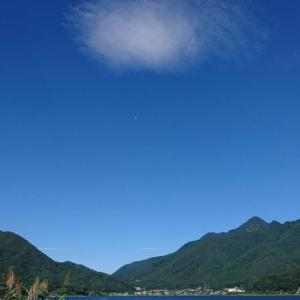 河口湖の朝散歩♪