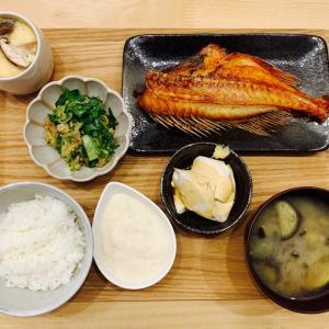 昨夜のごはん*焼き魚