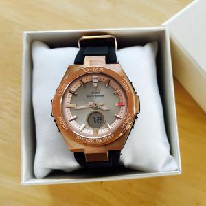 娘に時計のプレゼント