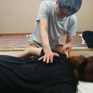 8/4(火)ジャップセングループレッスンうつ伏せ編