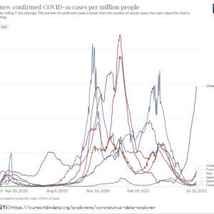 交差免疫〜日本人はコロナ患者が少ない