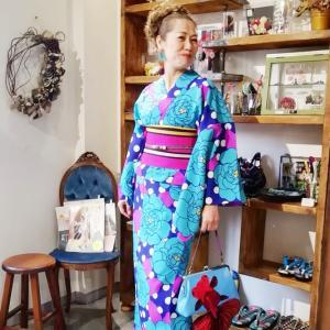 5月、6月、お客さまの単衣着物コーディネートスナップ♪