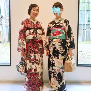 鎌倉今昔きもの大市盛況♪ 夏の終わりのお客さまコーディネート♪と、三重のお祭り御縁日!!