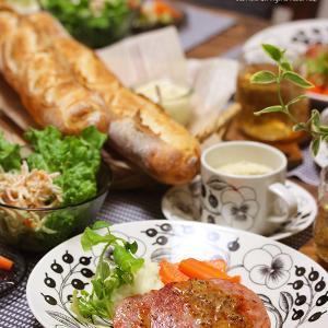 【献立】ボロニアソーセージのステーキ。~久々にパンを焼いたら心が洗われるようだった~