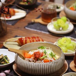 【献立】コムタン風スープかけご飯。~庭を掘ったら金塊は出ませんでした~