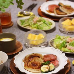 【献立】父の日に食べた野菜とハムのソテー。~ヘルシーご飯を食べた結果~