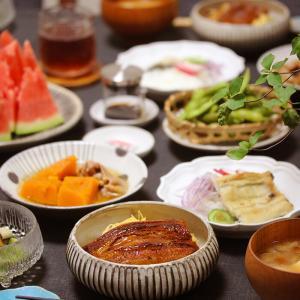 【献立】うな丼とうな次郎丼とうざくとうな次郎ざく。~土用の丑の日!~