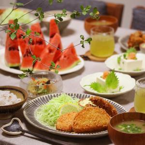 【献立】牡蠣フライと玉ねぎフライとかぼちゃフライ。~牡蠣特集~