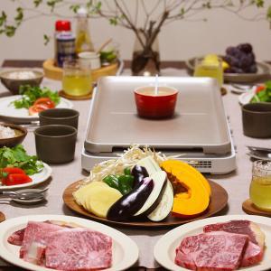 【献立】ホットプレートでステーキ。~会津牛も北海道牛もWで焼くよ!~