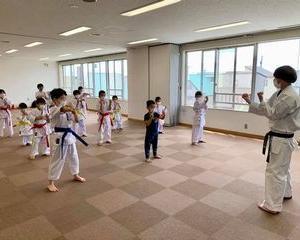 日曜空手 屯田教室 新琴似・新川教室 新しい仲間!