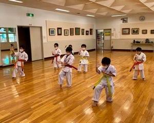 宮の沢教室 麻生道場 夏期昇級審査会