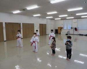 木曜空手 手稲教室 前田教室 新しい仲間!