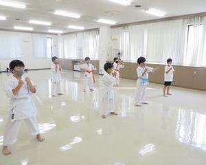 木曜空手 前田教室 手稲教室 新しい仲間!