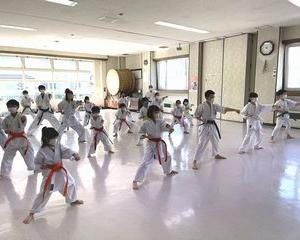 日曜空手 屯田教室 新琴似・新川教室 夏季昇段級審査会