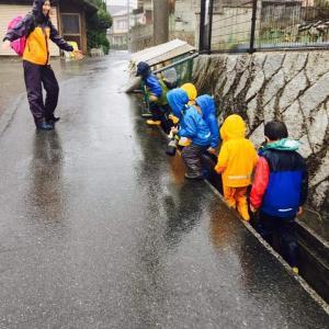 思わぬ大雨の一日