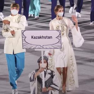 海外「日本人の反応が嬉しい!」 カザフ女性旗手を絶賛する日本人の反応が現地で大反響