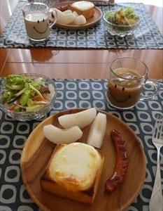 カチョカバロチーズとモッツアレラチーズ